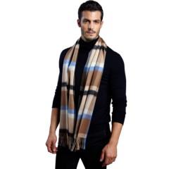 款款深情 纯羊绒围巾(男款)