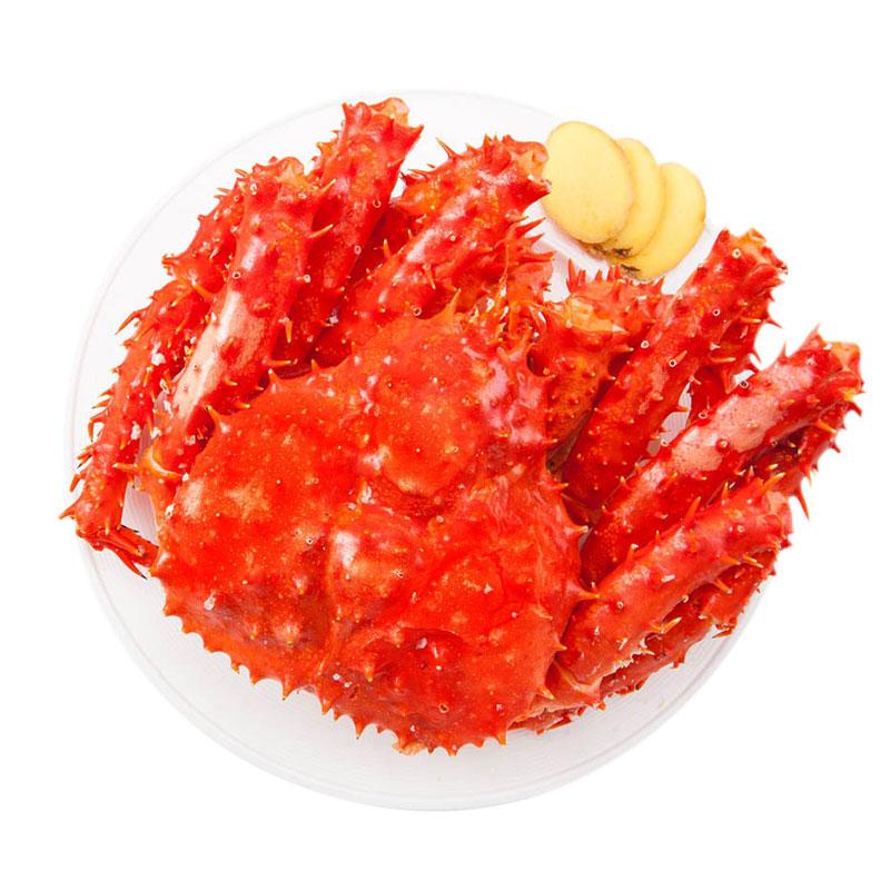 阿拉斯加帝王蟹  1.4-1.6kg/只