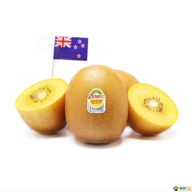 佳沛新西兰阳光金奇异果原箱3.3kg(25-27粒)